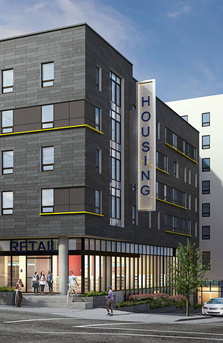 Holloway Avenue Mixed-Use Project